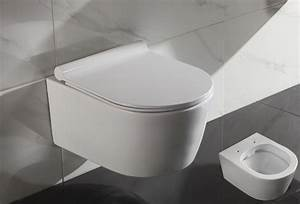 Hänge Wc Höhe : 50cm breite sp lrandloses wand h nge wc sp lrandlos toilette softclose sitz 2197 ebay ~ Markanthonyermac.com Haus und Dekorationen