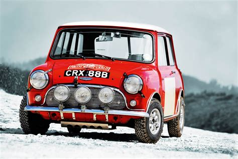 works monte carlo rally mini  greatest  mini