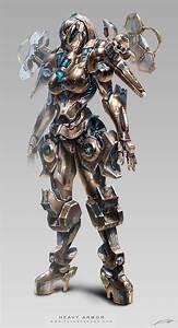 Avatar design (Heavy armor) female suit | Tokyo Otaku Mode ...