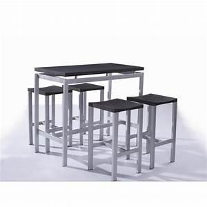 Mange Debout 6 Personnes : tabouret pour table mange debout ~ Teatrodelosmanantiales.com Idées de Décoration