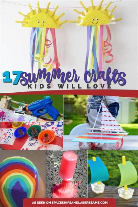 17 great summer crafts for spaceships and laser beams 920   MAIN SUMMER CRAFTS
