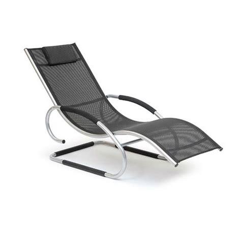 chaise longue roking chaise  gravite  bascule