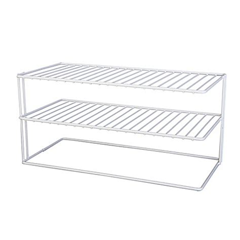 bed bath and beyond cabinet organizer buy large 2 shelf cabinet organizer from bed bath beyond