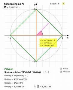 Polygon Berechnen : tri07 bogenma und kreiszahl pi matheretter ~ Themetempest.com Abrechnung