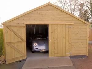 comment construire un garage en bois bricobistro With construire un garage en bois 20m2
