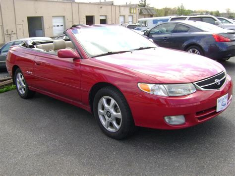 convertible toyota 2001 toyota solara i convertible pictures information