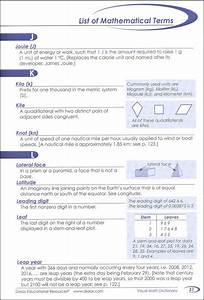 Visual Math Dictionary  042363  Details