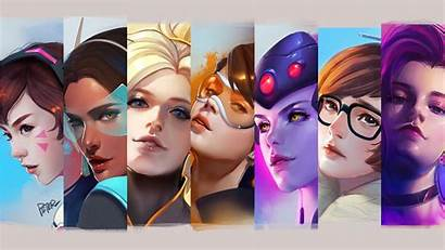 Overwatch 4k Female Heroes Wallpapers