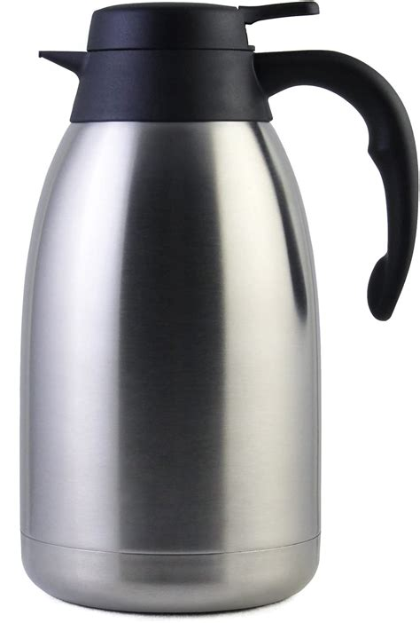 Different types of coffee thermoses are available in the market as per their sizes, design, material and so on. The 12 Best Thermal Coffee Carafe for Homes and Cafes | Food Shark Marfa