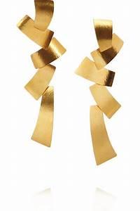 Hervé Van Der Straeten : herv van der straeten hammered gold plated tiered clip ~ Melissatoandfro.com Idées de Décoration