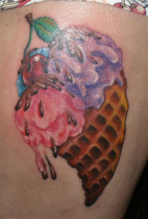 ice cream cone tattoos