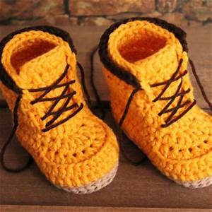 Crochet Boots Pattern for Baby Boys from Inventorium on Etsy