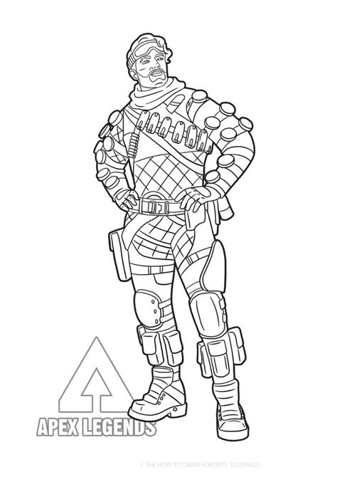 apex legends coloring pages coloring home
