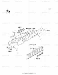 Kawasaki Side By Side Models With No Year Oem Parts