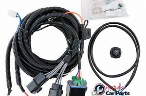 Driving Lamp Harness Suitable For Mitsubishi Pajero Qe