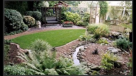 Garden Ideas Landscape For Small Gardens Pictures Gallery