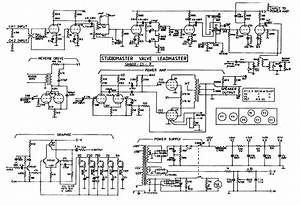 Scematic Diagram  Studio Master Amplifier Circuit Diagram