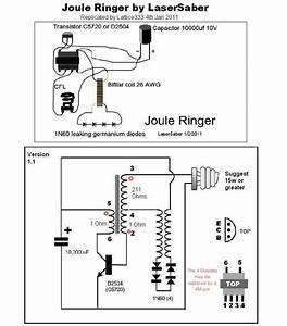 Super Joule Ringer Circuit Schematic