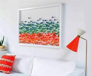 Bilderrahmen Aus Papier Basteln : basteln papier als kreative wohnzimmer wandgestaltung ~ Watch28wear.com Haus und Dekorationen
