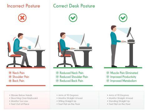 bonne position bureau standing desk quels intérêts d un bureau debout
