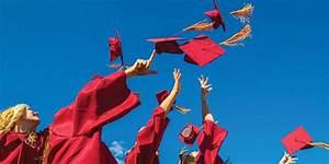 Throwing Graduation Red Caps In The Air | www.pixshark.com ...