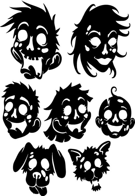zombie family wall decal custom wall graphics