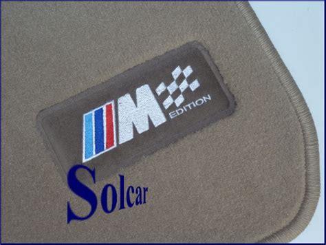 tapis auto sur mesure personnalise tapis auto personnalis 201 bmw m edition beige tapis bmw serie 1 f20 m sport edition