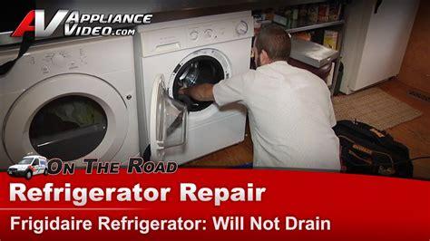 washer front load repair   drain  pump water