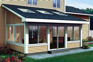 Project Plan 90021 - Shed Roof Sun Room Addition For Two