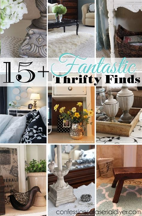 Thrifty Decor by My Thrifty Decor 15 Fantastic Thrifty Finds