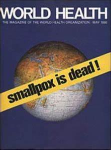 Smallpox: Dead or Alive? – Infectious Disease: Superbugs, Science, & Society Smallpox Vaccine