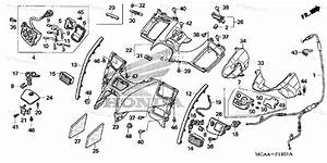 Honda Motorcycle 2008 Oem Parts Diagram For Shelter