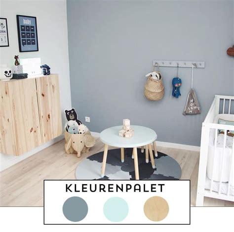 kleur inspiratie de mooiste verf om op de babykamer muur