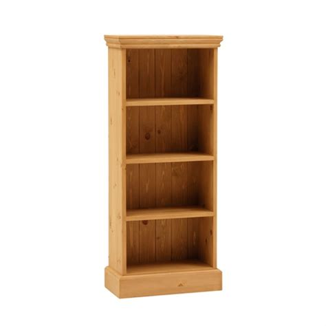extra shelves for bookcase dorchester pine extra narrow 4ft bookcase 4 shelves fully