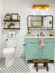 Vintage, Dresser, To, Bathroom, Vanity