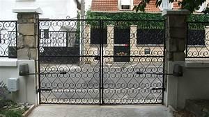 Portail Electrique Battant : motoriser un portail battant ~ Melissatoandfro.com Idées de Décoration