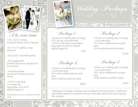 ciep photography wedding photography packages