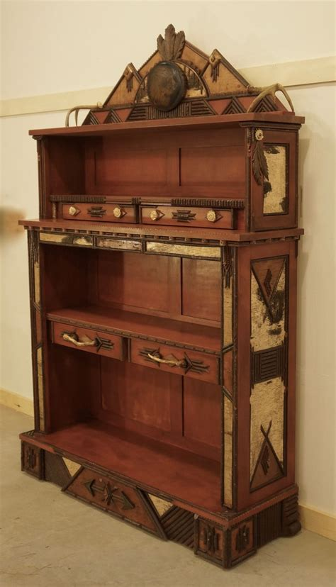lpostrustics this adirondack rustic american inspired bookcase was created by our