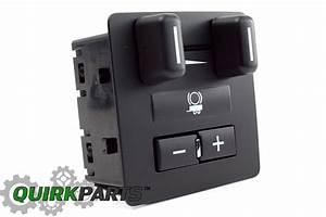 Oem New Trailer Brake Control Switch Button Silverado