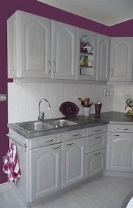 cuisines eleonore deco With deco cuisine gris et blanc