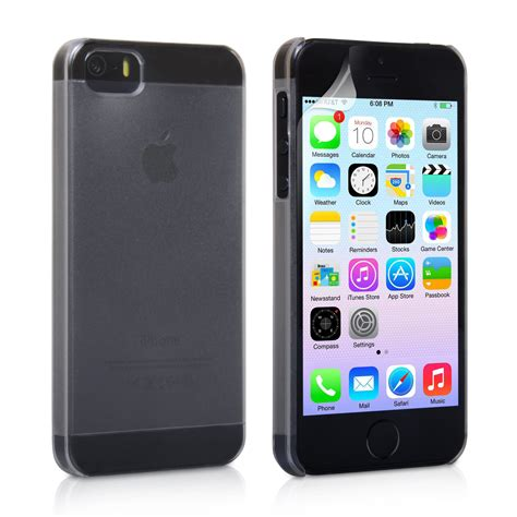 yousave iphone 5 5s clear matte mobile
