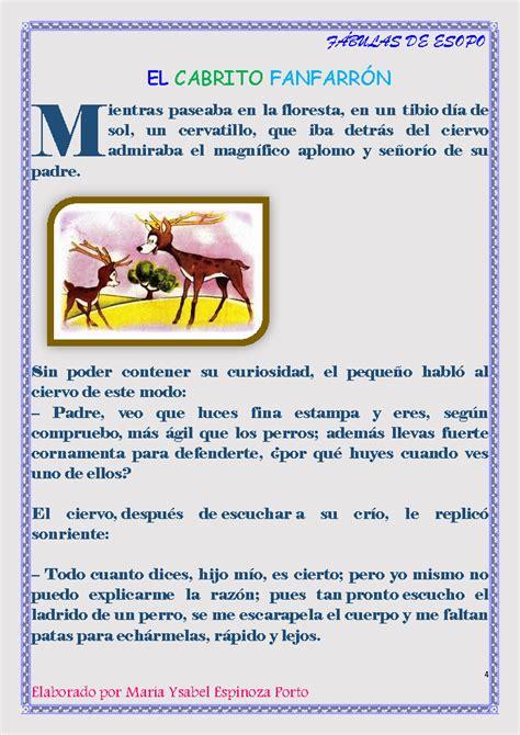 Fabulas De Esopo Monografiascom