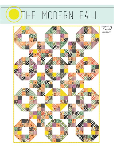 the modern pdf westwood acres fabric the modern fall quilt pattern pdf pattern