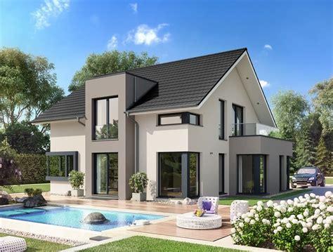 Modernes Haus Weiß evolution mainz bien zenker http www hausbaudirekt