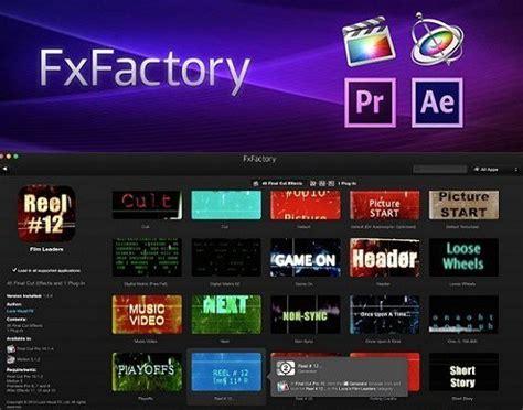 fxfactory pro 6 0 5 mac serial key free