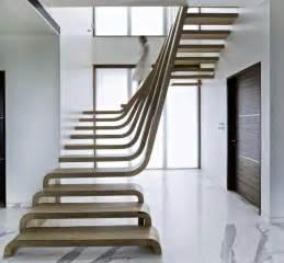 Escalier Acier Bois Lapeyre by Escalier Design Moderne 79 Id 233 Es En Bois B 233 Ton M 233 Tal Verre