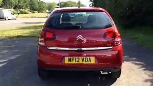 Citroen C3 Exclusive Red 2012