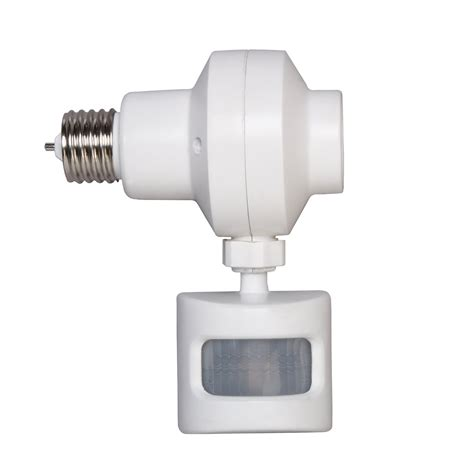 motion sensor light adapter how to choose outdoor motion sensor light bulb adapter
