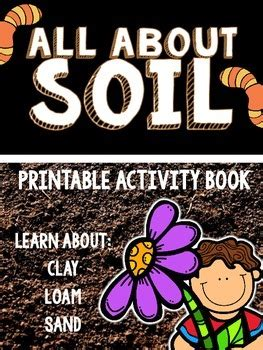 soil printable activity book
