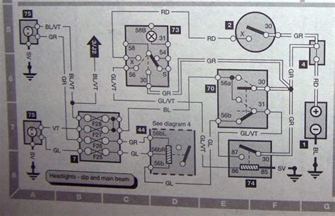 1992 Saab 900 Wiring Diagram by Relating Wiring Diagram To Light Relay Saabcentral